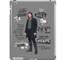 Ichabod Crane iPad Case/Skin