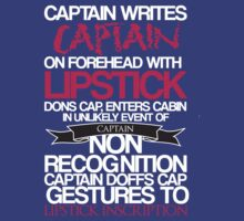 Captain Lipstick  by KitsuneDesigns