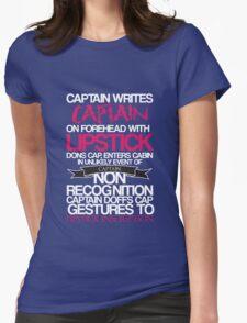 Captain Lipstick  T-Shirt
