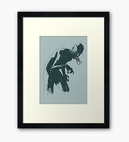 Ghoul Framed Print