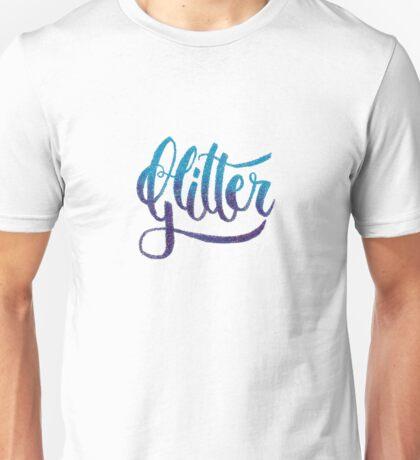Glitter Unisex T-Shirt