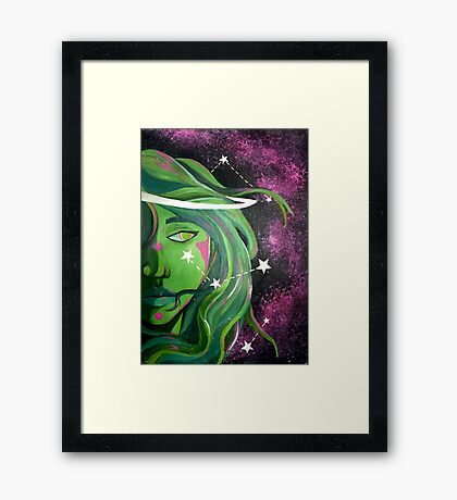 Lost in the Stars Framed Print