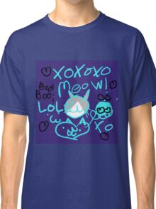 Kitty Meow Meow Classic T-Shirt