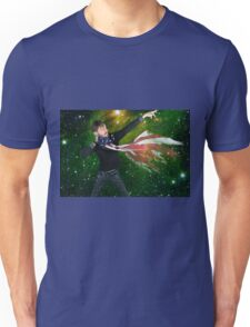 KingZelius American Distorted tattered Unisex T-Shirt