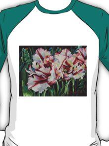 Fancy Parrot Tulips T-Shirt
