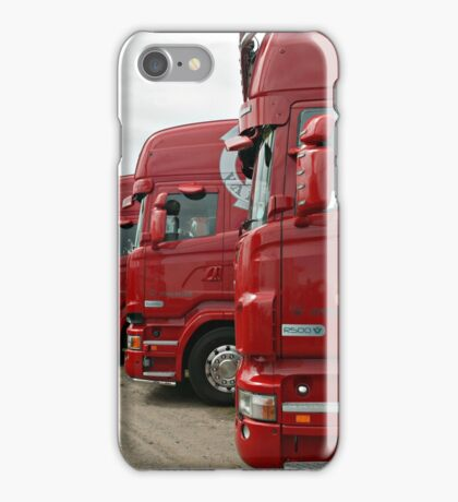 Red Scania's iPhone Case/Skin