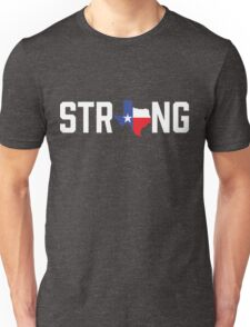 Texas State Strong Red White & Blue Unisex T-Shirt