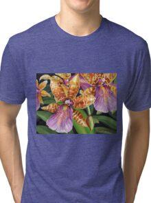 Paradise Orchid Tri-blend T-Shirt