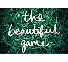 Soccer: The Beautiful Game Photographic Print