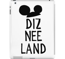 Diz Nee Land iPad Case/Skin