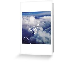 Paper Plane Greeting Card