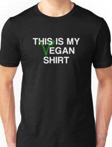 This Is My Vegan Shirt Unisex T-Shirt