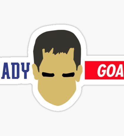 Tom Brady...GOAT Sticker
