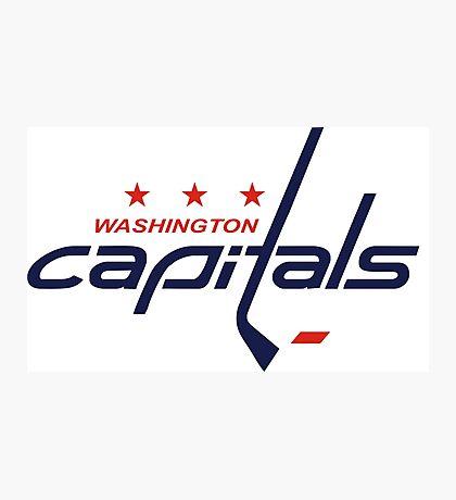 Washington Capitals Photographic Print