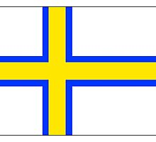 Norrland Flag by kwg2200