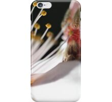pretty in peach iPhone Case/Skin