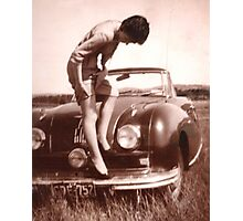 Memories of the Fifties [Austin A 90 ]1948 model ? Photographic Print
