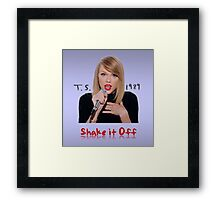 Shake (Full Colour) Framed Print