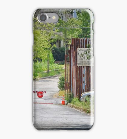 entrance  iPhone Case/Skin