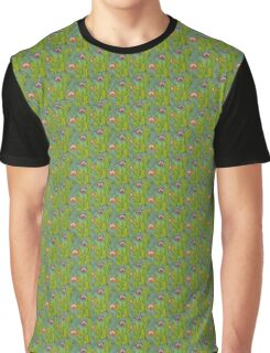 feild of cacti Graphic T-Shirt
