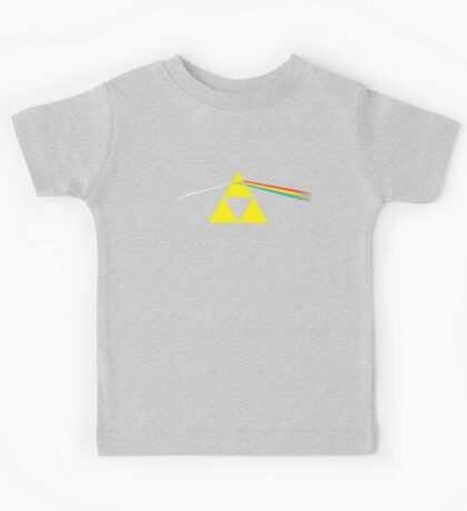 The Dark Side of the Triforce Kids Tee