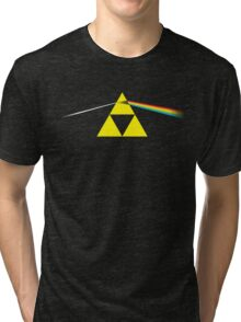 The Dark Side of the Triforce Tri-blend T-Shirt