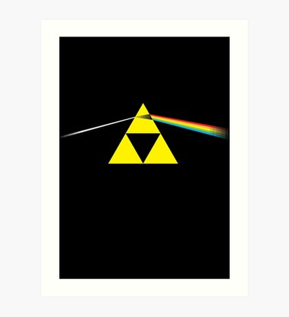 The Dark Side of the Triforce Art Print