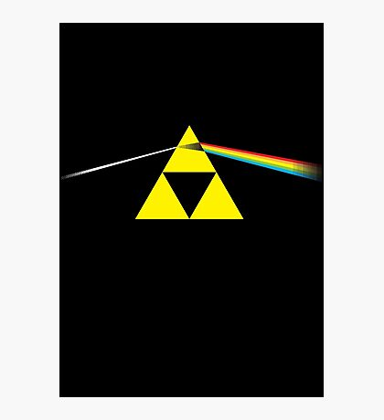 The Dark Side of the Triforce Photographic Print