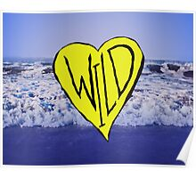 Wild Heart: Oregon Coast Poster