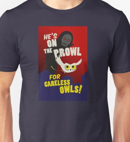 Careless Owls Unisex T-Shirt