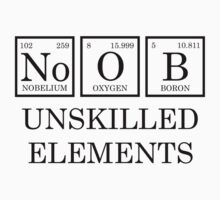 Noob - unskilled elements Kids Clothes