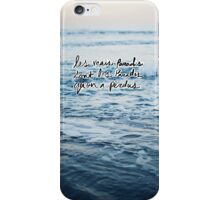 Paradis iPhone Case/Skin