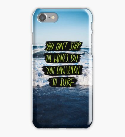 Learn to Surf iPhone Case/Skin