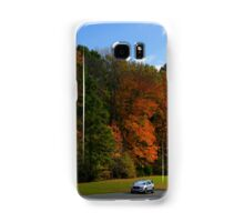 New GMC Arcadia SUV Driving through the fall foliage  on the Natchez Trace Nashville Samsung Galaxy Case/Skin