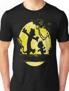 Calvin And Hobbes River Unisex T-Shirt
