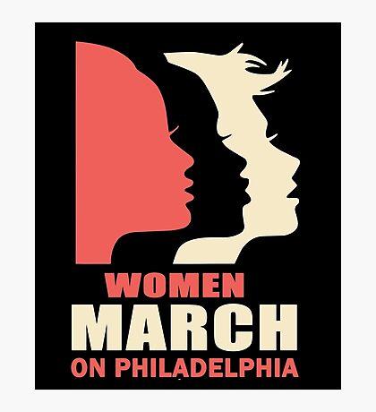 Women's March On Philadelphia Photographic Print