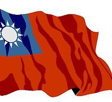 Taiwan Flag by kwg2200