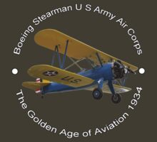 Boeing Stearman US Army Air Corps T-Shirt