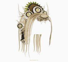 Glitch Masks Trimmed Spriggan Mask Kids Tee