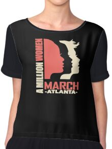 Women's March On Washington 2017 - Atlanta Georgia Chiffon Top