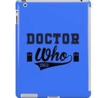 DOCTOR WHO EST. 1963 iPad Case/Skin
