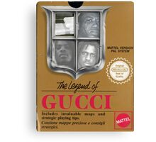 Legend of Gucci Canvas Print