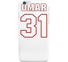 NFL Player Omar Bolden thirtyone 31 iPhone Case/Skin