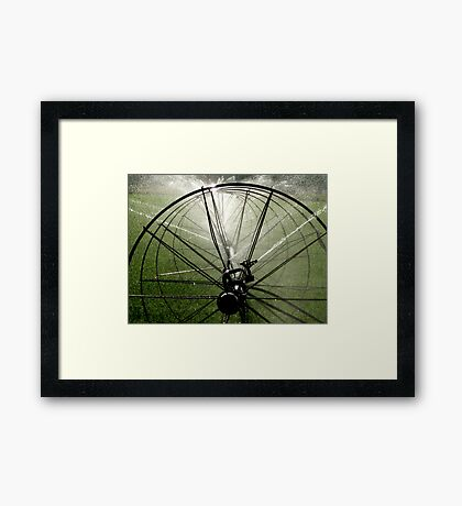 Sprinklers  - Light Framed Print