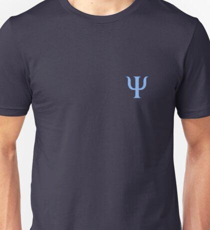 Psychology symbol, light blue  Unisex T-Shirt