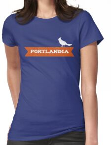 Put a Bird on it Womens Fitted T-Shirt