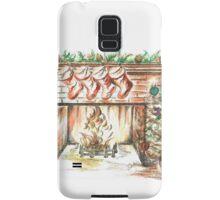 Cozy Christmas Eve Samsung Galaxy Case/Skin