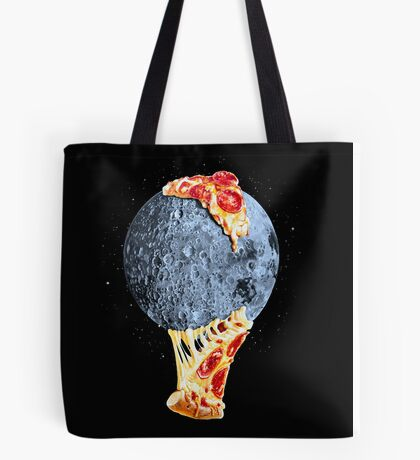 When the moon hits your eye... Tote Bag
