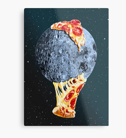 When the moon hits your eye... Metal Print