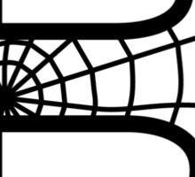 Spiderman B letter Sticker
